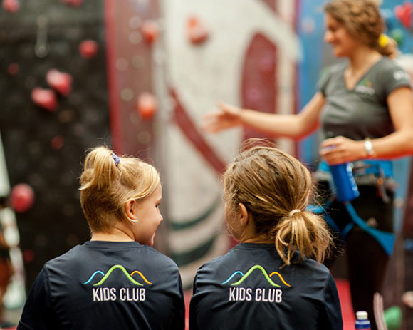 Kids rock climbing club